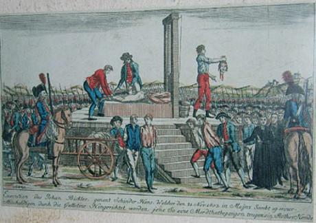 Schinderhannes avrättning.