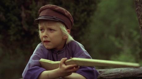"""Emil med sin """"bysse""""."""