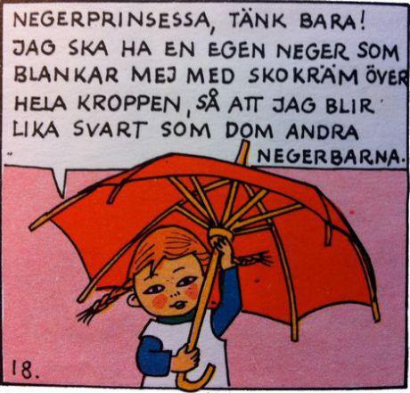 """Från """"Pippi går till sjöss"""" (1971)."""
