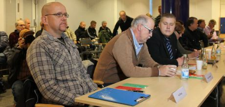 Pär Öberg tar plats i Ludvikas kommunfullmäktige