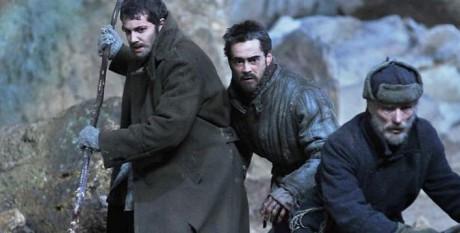 Bildruta från filmen The Way Back.