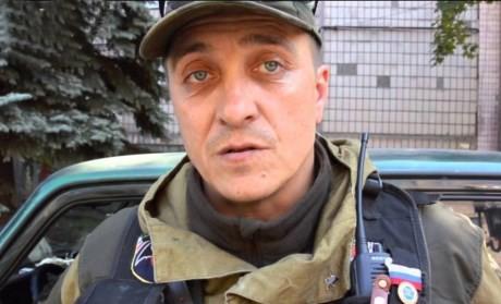 """Alexander Bednov, ledaren för insattsstyrkan """"Batman""""."""