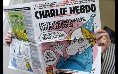 frankrike karikatyr tidning