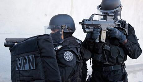 franska poliser