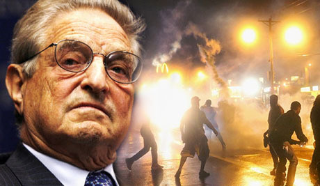 George Soros sponsrade Ferguson-upploppen.