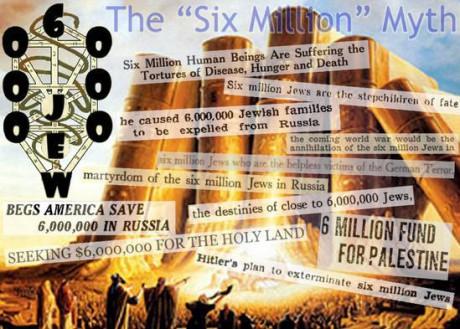 Tror du att Hitler dödade 6 000 000 judar? I så fall tror du på judisk religion.