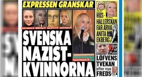 Bildruta från Expressen.se.