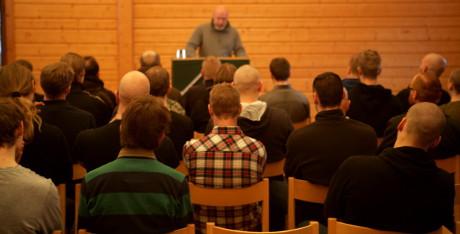 Föredraget med Klas Lund gav nya perspektiv på framtiden.
