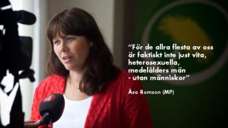 Åsa Romson.