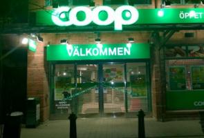 Spärrbandsaktion i Stockholm