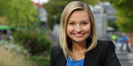 Kristdemokraternas nya partiledare, Ebba Bush Thor.