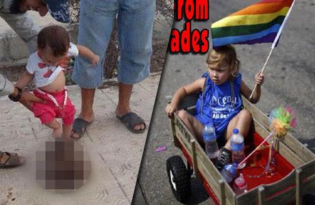 Barn till en islamist och en hbtq-extermist.