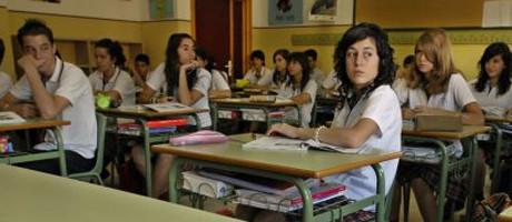 """Spanska elever måste nu erkänna """"kosmos gudomliga ursprung""""."""