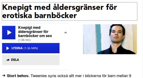 Foto: skärmklipp från sr.se
