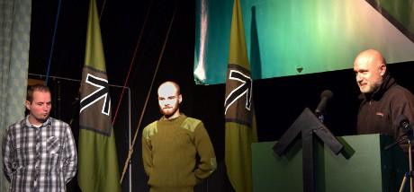 Aktivister som visat engagemang mottog utmärkelse på scenen.