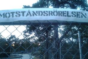 Banderolluppsättning i Stockholms skärgård