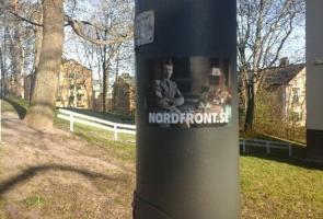 Klistermärkesuppsättning i Stockholm