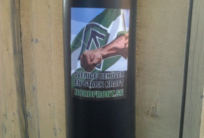 Klistermärkesuppsättning i Umeå