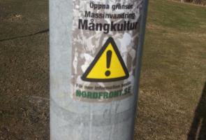 Klistermärkesuppsättning i Lindesberg