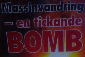 Affischering i Sölvesborg