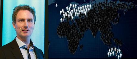 Erik Selin är en av dem som profiterar på utrotningen av Europas vita folk.