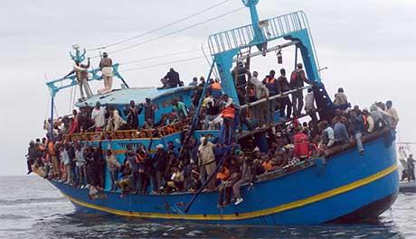 båtflyktninger