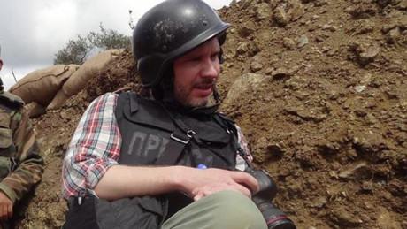 Fotografen Andrey Stenin dödades av Kiev-styrkor.