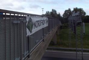 Banderolluppsättning i Botkyrka kommun