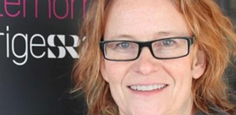 """Susanne Helsing, kanalchef på SR Västernorrland, förordar yrkesförbud för """"nazister""""."""