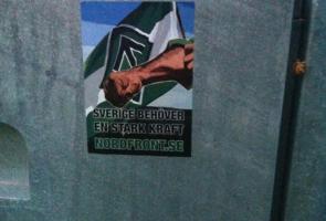 Klistermärkesuppsättning i Ludvika