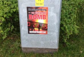 Affischering i Göteborg