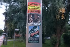 Klistermärkesuppsättning i Söderort