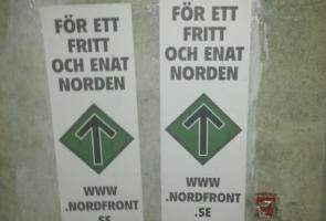 Affischering i Örnsköldsvik