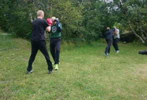 Kampsportsträning i Göteborg