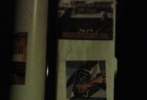 Klistermärkesuppsättning i Karlshamn