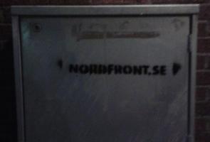 Sprayning/klistermärken i Olofström