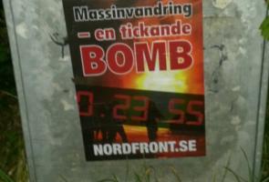 Affischering i Botkyrka