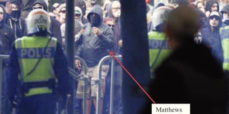 John Matthews våldsamt upplopp
