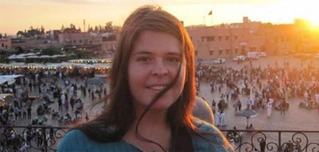 Kayla Mueller dödadas i februari i år.