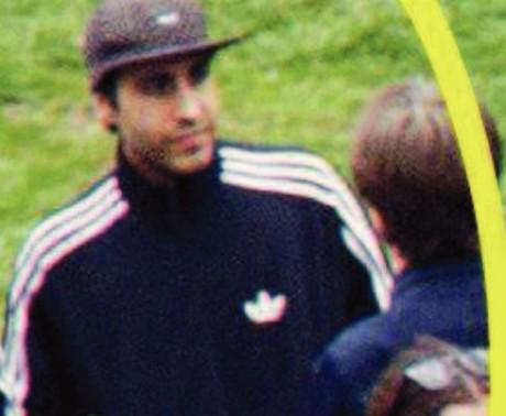 Luciano Quinteros Ureta fotad av polisen