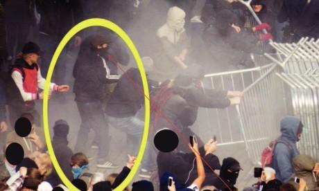 Luciano Quinteros Ureta våldsamt upplopp