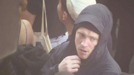 Lukas Wallander innan upplopp