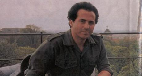 Ahmed Rami som soldat.