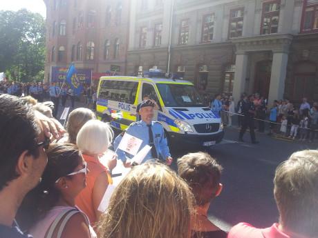 Sveriges poliskår skämmer ut sig.