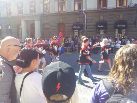Delar av Kirunas ishockeyförening.