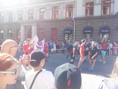 """Det helt öppna gayrugbylaget """"Stockholm Berserkrs"""". Gillar att kramas med heterosexuella i de lägre divisionerna."""