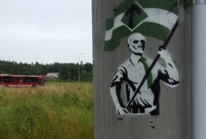 Sprayning i Södertälje