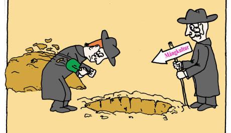 gräva-en-grop