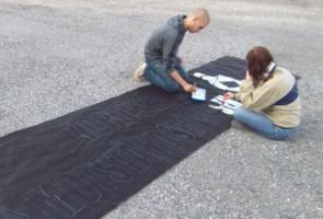 Banderolltillverkning i Södertälje