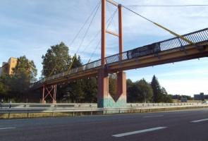Banderolluppsättning i Södertälje kommun